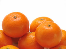 橙色果子,健康有机桔子 免版税库存照片