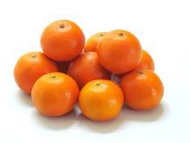 橙色果子,健康有机桔子 免版税库存图片