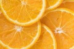 橙色柑桔切背景 图库摄影