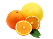 橙色柚 库存照片