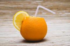 橙色柠檬汁鸡尾酒  库存图片