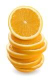 橙色栈 免版税库存照片