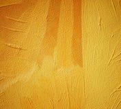 橙色树荫内部的抽象绘画  库存例证