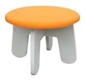 橙色椅子 皇族释放例证