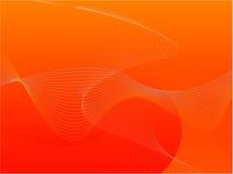 橙色模板 免版税图库摄影