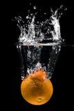 橙色水 免版税库存照片