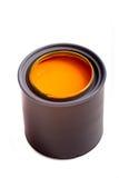 橙色油漆 库存照片