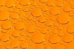 橙色泡影纹理 图库摄影