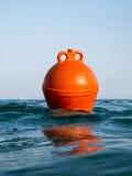 橙色浮体 库存图片