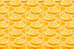 橙色片式 重复橙色样式 模式 免版税图库摄影