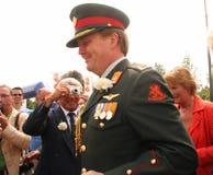 橙色王子威廉 库存照片