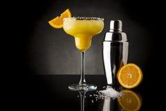 橙色玛格丽塔酒鸡尾酒 免版税库存图片