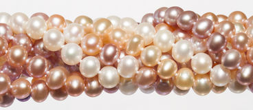 橙色珍珠 免版税库存图片
