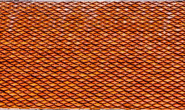 橙色瓦 免版税库存图片