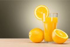 橙色生气勃勃 免版税库存图片