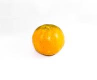 橙色白色背景 库存图片