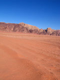 橙色的沙丘 库存图片
