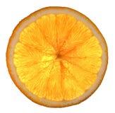 橙色的电池 免版税库存照片