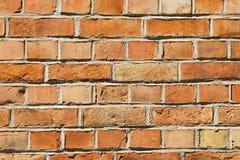 橙色的砖 免版税库存照片