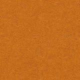 橙色皮革纹理 免版税库存照片