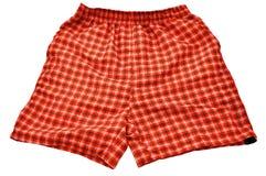 橙色短裤 库存图片