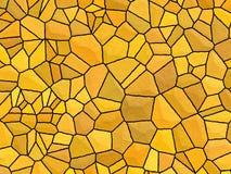 橙色石头阻碍纹理 库存照片