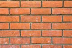 橙色砖背景 免版税库存图片