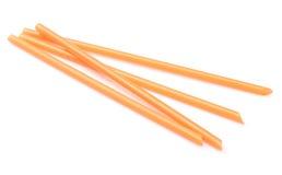 橙色秸杆 免版税库存图片