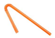 橙色秸杆 免版税库存照片
