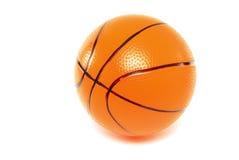 橙色篮球 库存图片