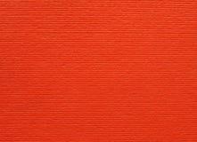 橙色纸板纹理背景 图库摄影