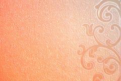 橙色纸纹理的背景,桃红色,样式权利 免版税图库摄影