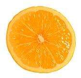 橙色细分市场 库存例证