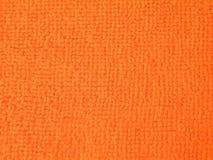 橙色织品摘要 免版税图库摄影