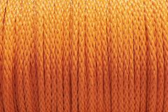 橙色绳索 库存图片