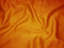 橙色缎 免版税库存照片