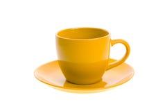 橙色罐茶 免版税库存照片