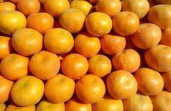 橙色背景果子 免版税库存照片