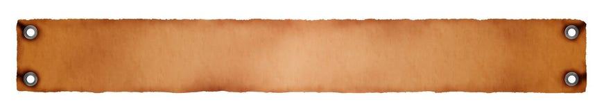 橙色背景棕色的空缺数目 皇族释放例证