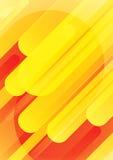 橙色背景 向量例证