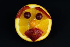 橙色表面 库存图片
