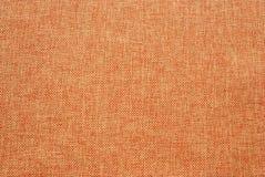 橙色被编织的纹理背景特写镜头细节  库存图片
