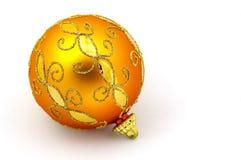 橙色装饰品 免版税库存图片