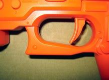 橙色触发器 库存图片