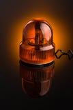 橙色警报器 免版税库存图片