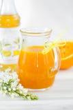 橙色调味汁 库存照片