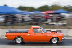 橙色迅速 库存图片