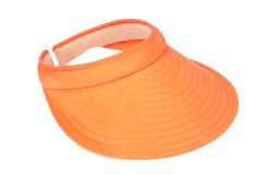 橙色遮阳 库存图片