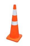 橙色锥体 库存照片