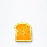 橙色面包 免版税库存图片